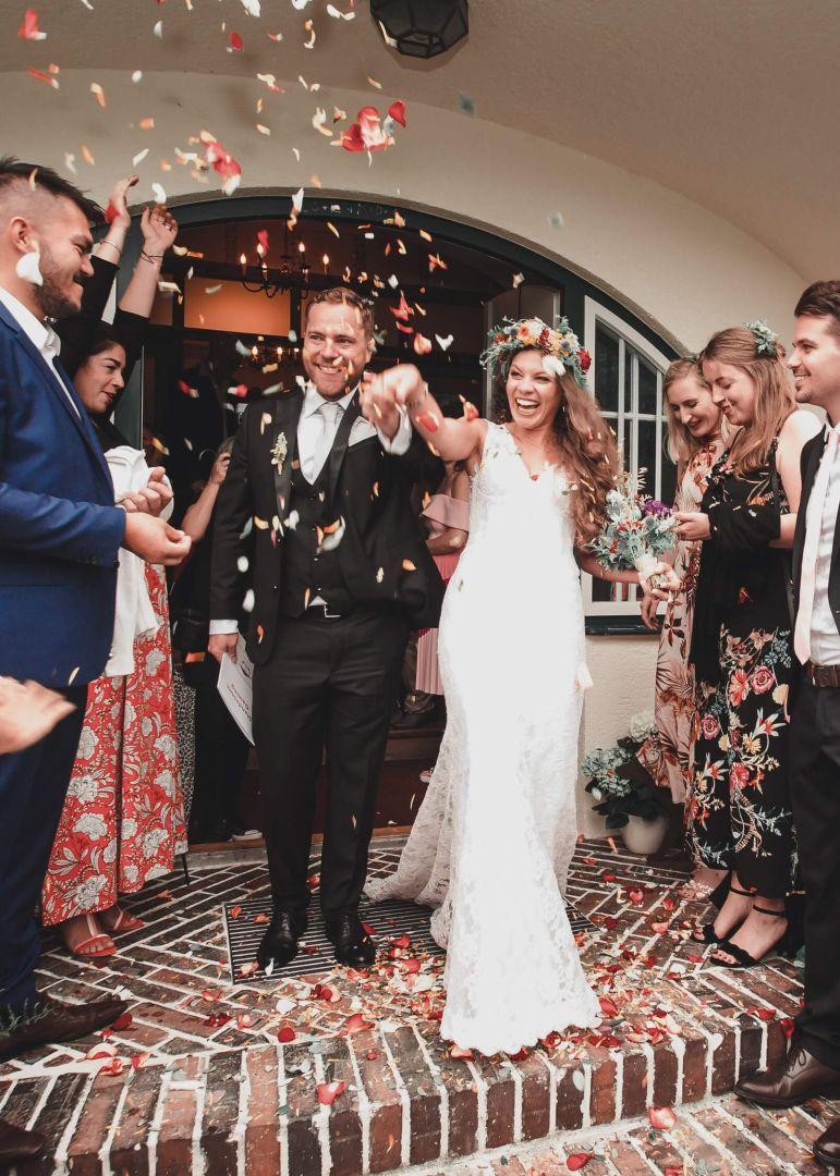 Auszug des Brautpaares